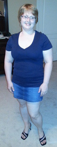 New Shirt, Skirt, and Shoes