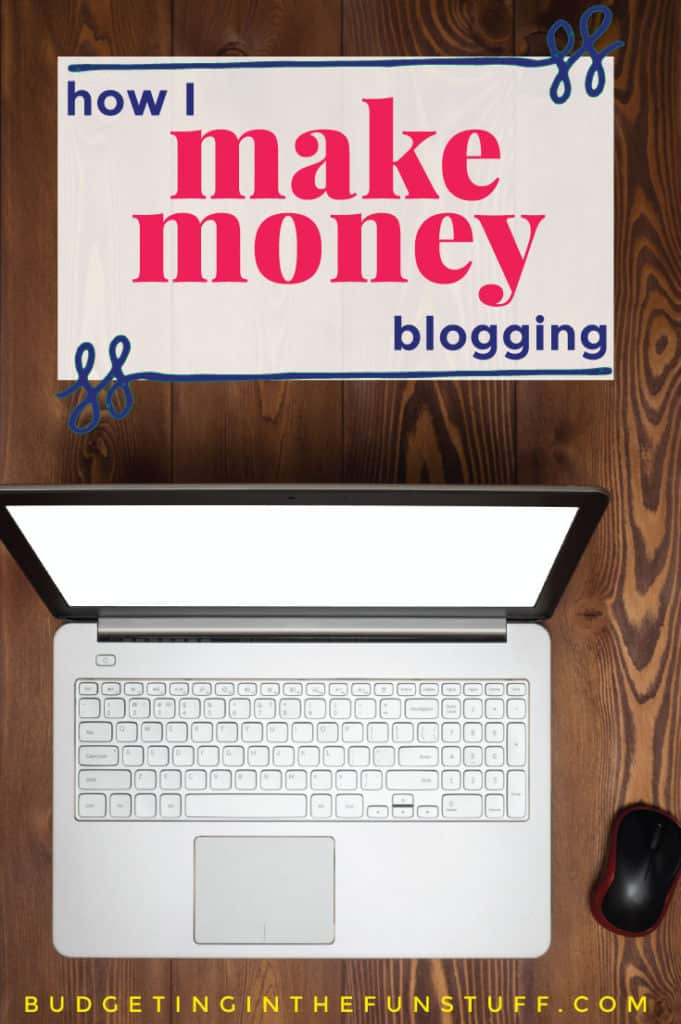 I love it when people share how they make money blogging. There's all sorts of great tips and insider info in this post. She makes thousands every month!