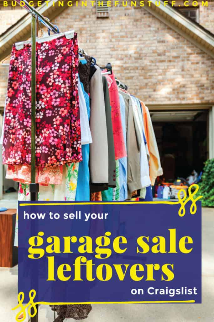 What do you do when your garage sale is over and you still have lots of stuff leftover? Don't just donate it - make more money off of your old stuff by selling it on Craigslist! These tips will help you make the most of your junk and turn it into cash you can put into your pocket, without causing too much hassle.