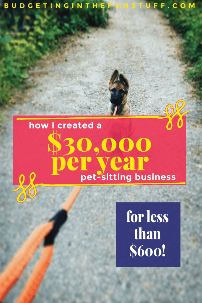 How I Created a $30,000 Per Year Pet Sitting Business for