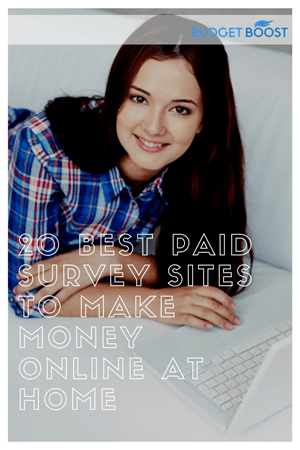 20 Best Ways to Get Paid to Take Surveys Online at Home