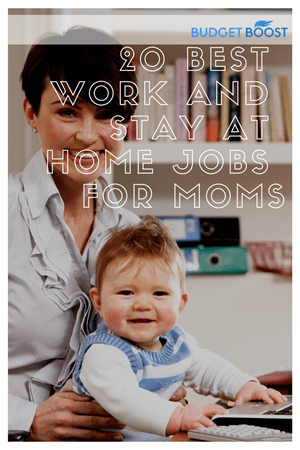20 Legitimate Work at Home Jobs for Moms